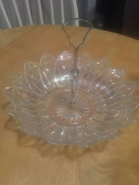 clear cut glass bowl with lid Dartmouth, B2W 5Z9