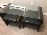 Cute coffee table with footrests Calgary, T3C 0W3