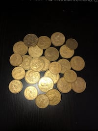 round silver and gold coin collection Secaucus, 07094