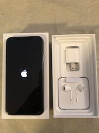 Iphone X 64GB Space Grey with Applecare+ Langley, V1M 0B6