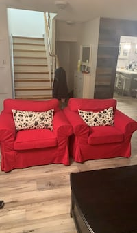 2 extorp arm chairs 250 for the pair or $150 each Mississauga, L5N 7L3
