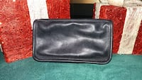 Preowned Black Leather Coach Makeup Bag Germantown, 20876