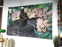 Wall Art Mural Painting Large  Vancouver, V6E 3W1