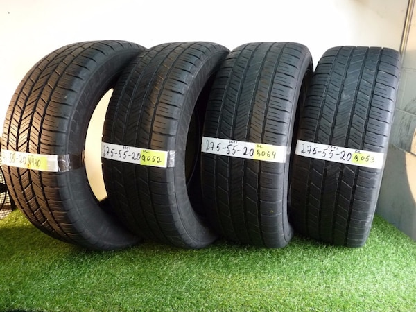 Used Tires Orlando >> Used 275 55 20 Goodyear Eagle Ls2 4 Used Tires 80 Life For Sale In
