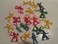 Vintage Little plastic men Cowboys and Indians Winnipeg, R2L 0X1