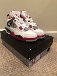 Fire red 4 sz 8.5 (really good condition) Manassas, 20109