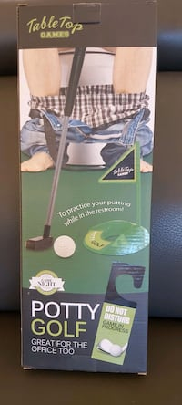 Potty Golf  4.3 out of 5 stars204Reviews  Potty Golf HD-04034 Table Toronto, M3C 1L7