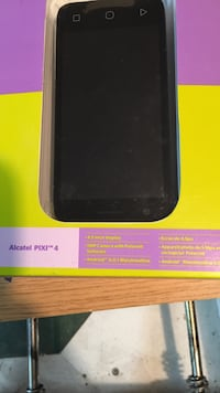 Koodo Alcatel pixi 4 comes with phone-sim card-phone accessories
