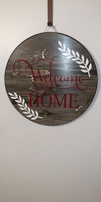 Home decor wooden sign Bryan, 77802