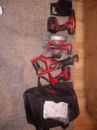Skil Power Tools Set 18V Drill,Skilsaw,reciprocating saw,Flashlight