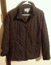 Women's Large Jaclyn Smith and Talbots Jackets  Gray, 37615
