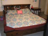 Waterbed - Wood Frame - Cal King - Marked Down Denton