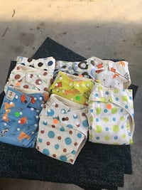 Over night cloth diapers Lowell town, 53579