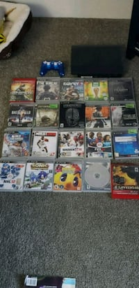 ps3 with 20 games  Victoria