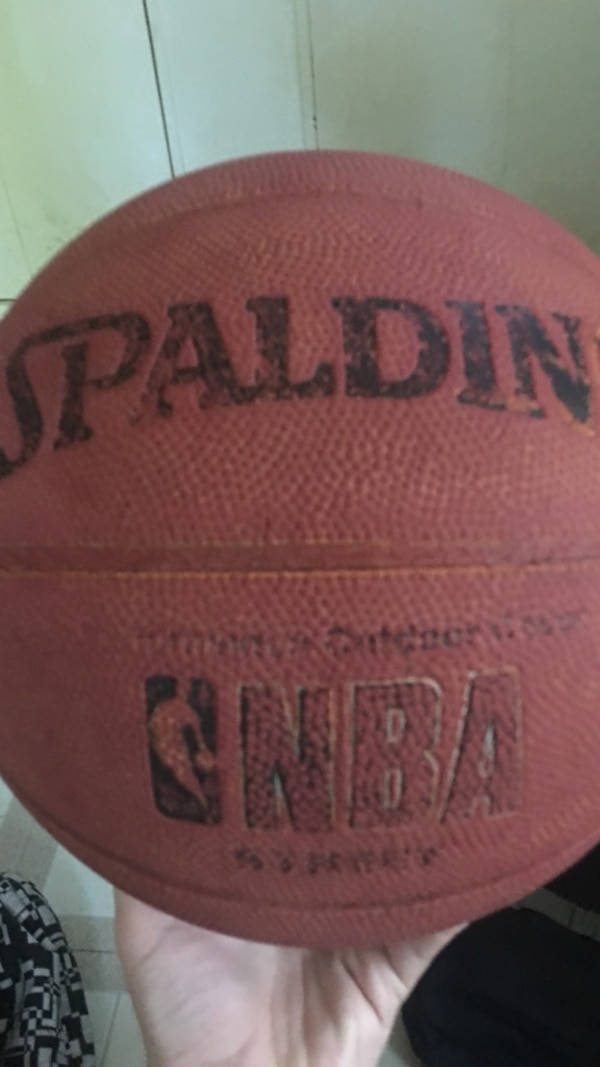 558f60584af1c0 Used brown Spalding basketball bought 2 years ago for sale in ...
