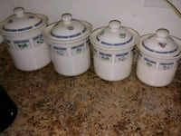 Set of 4 canisters Martinsburg, 25404