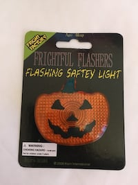 Halloween Flashing Safety Light for Bikers or Trick or Treaters NEW unisex Honolulu, 96816