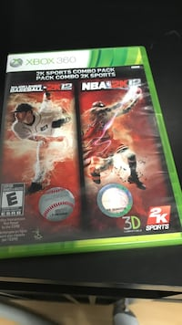 Nba 2k12 and mlb 2k12 for xbox 360 Vaughan, L4J 7Y8