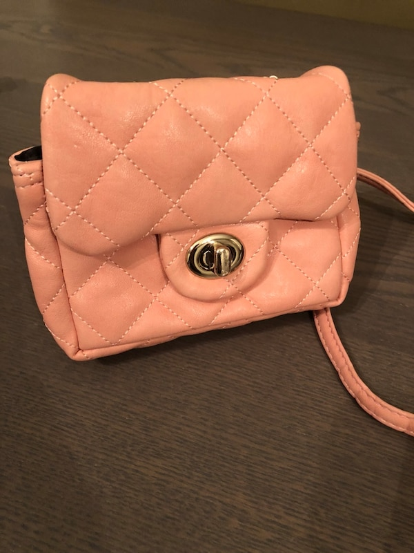 764c0731d50a Used Milky pink quilt crossbody bag for sale in Castro Valley - letgo