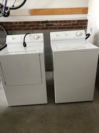 Washer and dryer in very good condition  Clayton, 27520