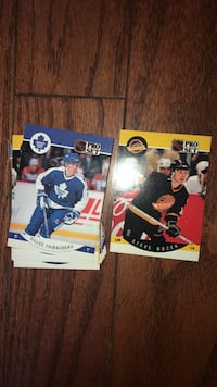 NHL hockey cards  Barrie, L4N 0E4