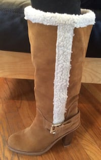 Michael Kors boots so 9 new suede and sterling lined Newburgh, 12550
