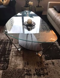 Glass top coffee table Oakville, L6M 0S4