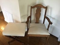 Cute Wooden Living Room or Entryway Chair & Ottoman Nashville, 37209