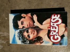 grease the movie VHS