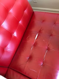Red sofa - sofa bed Toronto, M2M 1J3