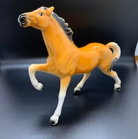 Vintage Ceramic Butterscotch made in Japan Horse