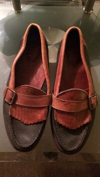 Pair of black-and-brown loafers Gilmer, 75645