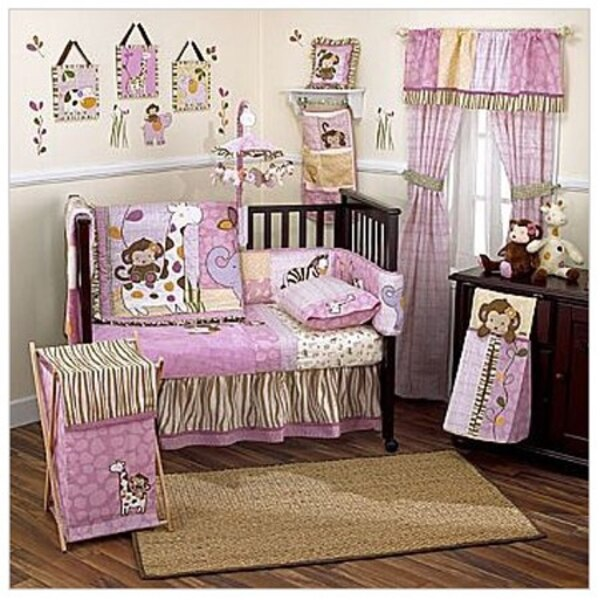 Cocalo Jacana Baby Nursery Accessories 10 Piece Set Crib And Mattress Additional 100