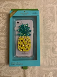BRAND NEW Kate Spade jewelled pineapple clear iPhone 6/6s/7/8 case Toronto, M6G