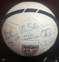 Autographed USA Soccer Ball Chesapeake, 23322