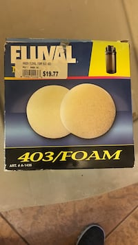 Fluval 403 foam 2 new in box Maple Ridge