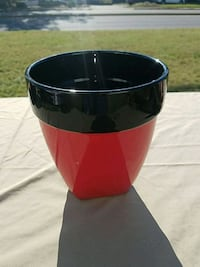 red and black plastic container Chesapeake, 23321