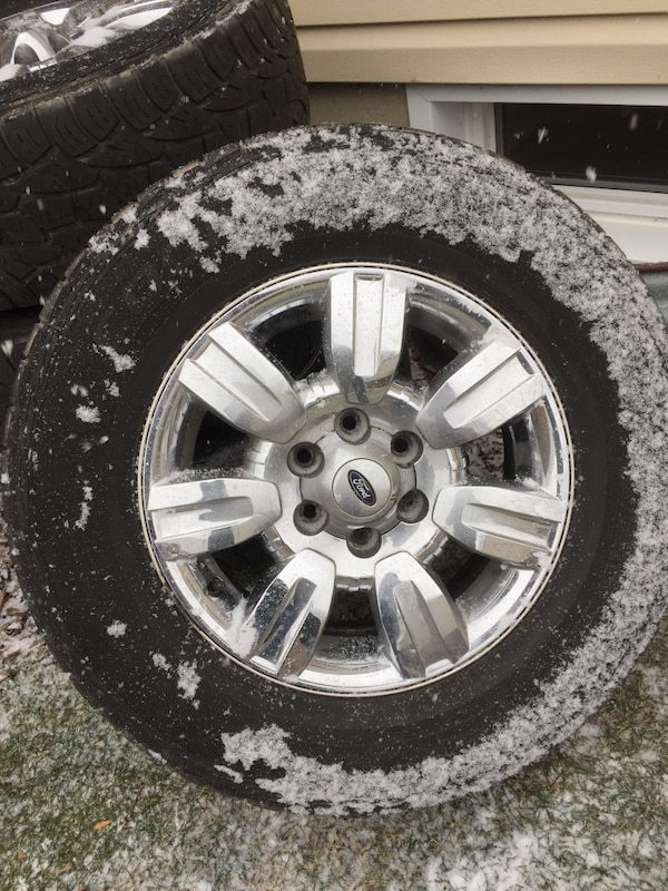Ford F150 Bolt Pattern >> Ford Wheels And Tires