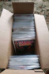 Comic Books lots of Deadpool and older comics, will sell all or indivd Chesapeake, 23325