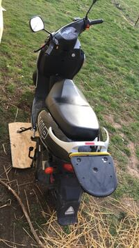 Black and gray moped  Versailles, 40383