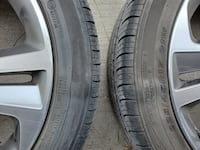 OEM Hyundai rim and tire set. 225/45/17