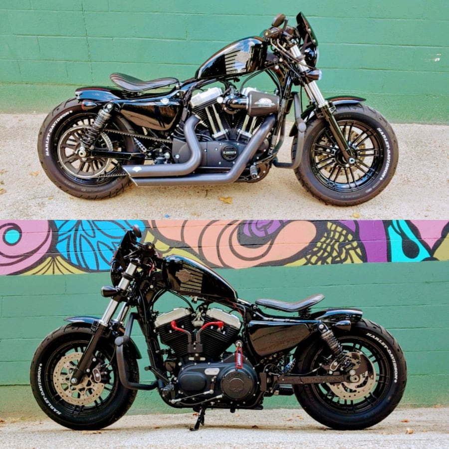 2017 Harley-Davidson Forty-Eight motorcycle