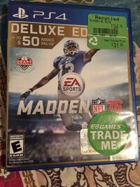 Madden NFL 16 Sony PS4 deluxe edition Surrey, V3W 7J9