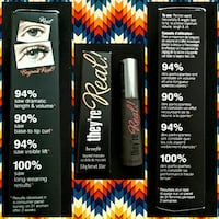 Benefit They're Real Mascara-Black, 3g,Travel size Cheyenne, 82007