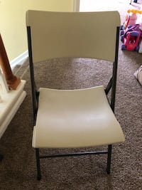 black and white metal chair 丹佛, 80249