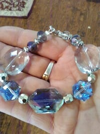Ice blue bracelet new