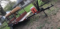 Homemade kayak trailer with title