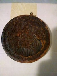 Very rare antique 1930s wax heart Jesus mould Lincoln Park, 48146