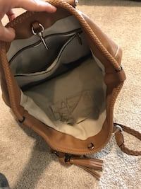 brown leather bag with tassel Rocky View No. 44