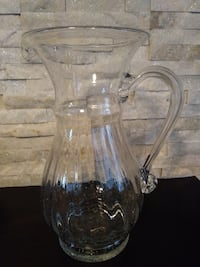 Moving - must sell  Water pitcher - 12 inch's in height Edmonton, T5B 2T4